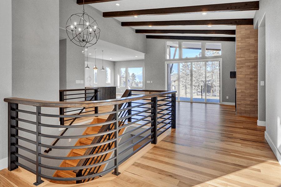 buena-vista-mountain-modern-entryway-stairs